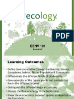Lecture 3. Ecology of Life