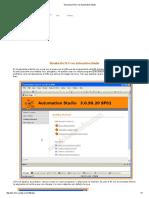 Simulacion PLC Con Automation Studio