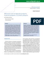 Articulo. Diferenias entre Depresion postparto, psicosis postparto.pdf