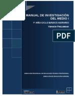 Manual de Investigación Del Medio i