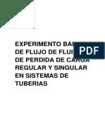 FLUJO  Cv Co