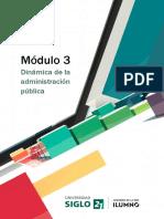 M3 - L3 - Dinámica de La Administración Pública