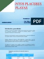 Yacimientos Plaseres de Playas111