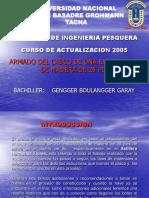 EXPOSICION DE EMBARCACIONES - CURSO DE ACTUALIZACION 2005.ppt