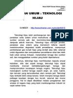Petikan Teknologi Hijau (3)