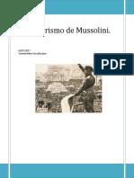 Totalitarismo de Mussolini