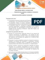 Presentacion Del Curso Comercio y Negocios Internacionales