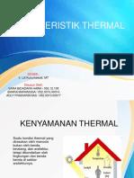 Karakteristik Thermal