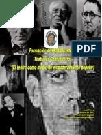 Formación de Multiplicadores Teatrales Populares 2014 -2015 Min Juventud (1)