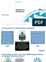 Optimizing Global Delivery ToSupport Sourcing Excellence