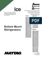 Bottom Mount Refrigerators Service