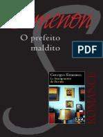 Georges Simenon - O Prefeito Maldito.epub