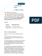 Vehicle & Traffic Law - Distracted Driving, Talking & Texting.pdf
