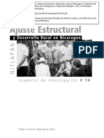 Ajuste Estructural y Desarrollo Rural(1)