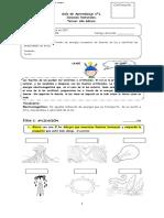 Guía de Aprendizaje nº1 ciencias 3° (viernes 11 de agosto)