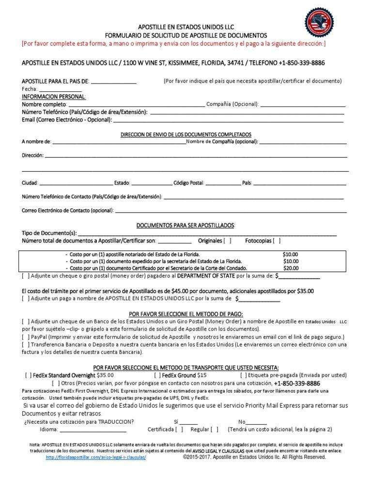 Atractivo Certificado De Matrimonio De La Florida Inspiración ...