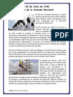 Dia de La Armada Del Ecuador