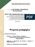 Aula I- Introdução Políticas Publicas 2016-2 Sem