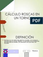 Calculo de Rosca