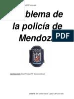 Emblema de La Policía de Mendoza