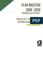 Plan Maestro de Metro 2006 - 2030