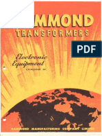 Hammond Transformers Catalog 65