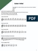 TRINITY - Guitar Scales Exercises 4