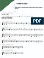 TRINITY - Guitar Scales Exercises 5