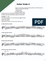 TRINITY - Guitar Scales Exercises 10