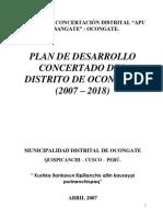 PLAN_11049_PLAN DE DESARROLLO CONCERTADO DEL DISTRITO DE OCONGATE (2007 – 2018)_2010.pdf