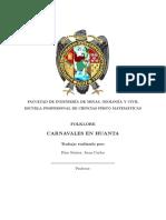 Carnavales en Huanta