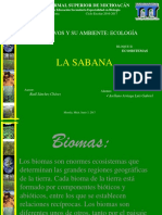 biomas terrestres sabana