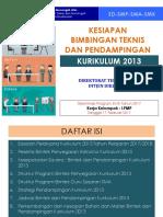 Kesiapan Bimtek Dan Pendampingan K-13, LPMP-Rakor Kabid170217