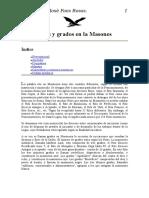 Masones Ritos Y Grados en La Masoner¡a(1)