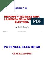 MEDIDA DE LA POTENCIA ELECTRICA (CLASES).pdf