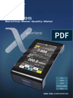 TOA DKK Water Quality Sensor Xseries Pre