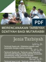 Materi 8 -- Merencanakan Tarbiyah Dzatiyah Bagi Mutarabbi