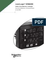 ION6200 - Manual de Instalacion y Funcionamiento