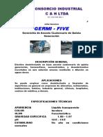 Ficha Tecn. Germifive- Amonio