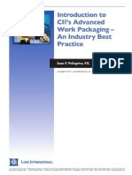 Long Intl Intro to CII Adv Work Packaging-An Industry Best Practice