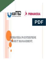 Primavera p6 Enterprise Project Manageme