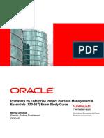 Primavera P6 Enterprise Project Portfoli