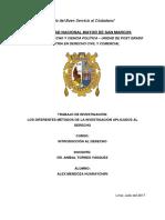 Monografia de Metodologia Juridica