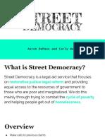street democracy final presentation
