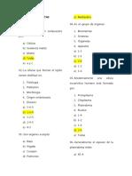 87102867 Banco de Preguntas Anatomia