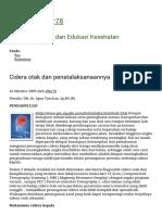 Cidera Otak Dan Penatalaksanaannya Blog EfkaUnair78