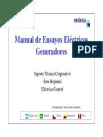 Manual de Ensayos Eléctricos Estator Rotor