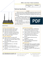 F8936-L Series Router Technical Specification V1.0.1