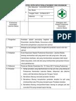 8.6.2 Ep 3 Kontrol Peralatan Testing Dan Perawatan Secara Rutin Untuk Peralatan Klinis
