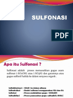 Tugas PIK (Sulfonasi) Pasca XI